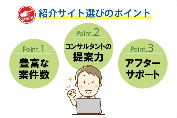 Java案件の紹介サイトの選び方のポイントは3つ!